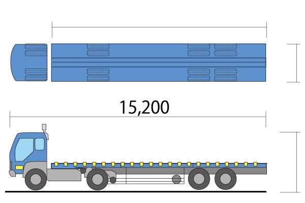 ISOトレーラー 40t